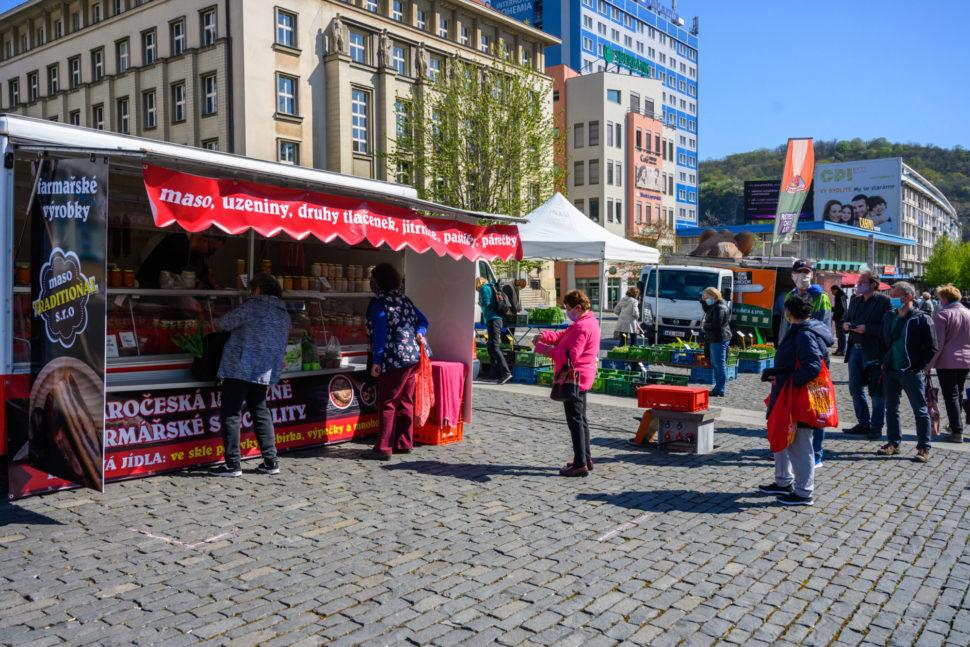 Farmářské trhy vÚstí nad Labem