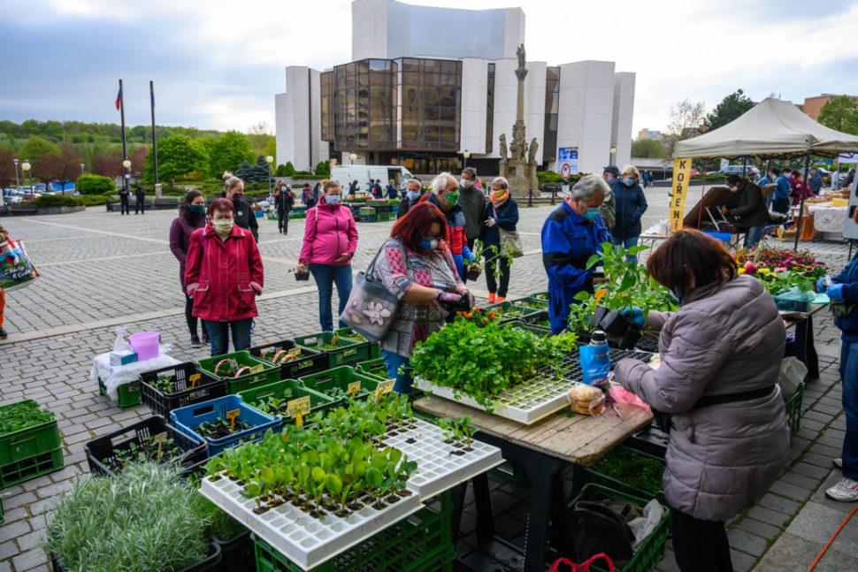Farmářské trhy vMostě
