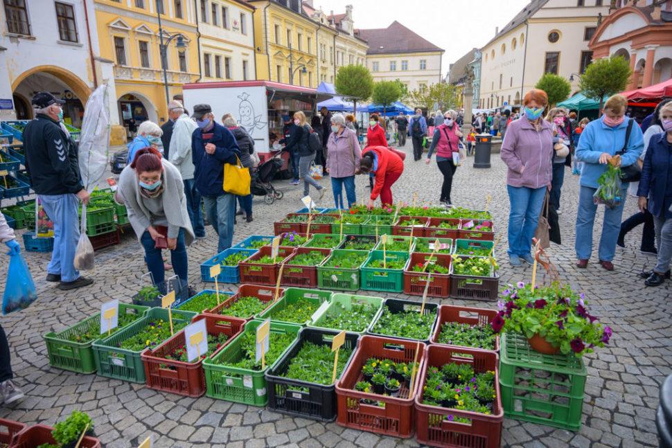 Farmářské trhy vChomutově