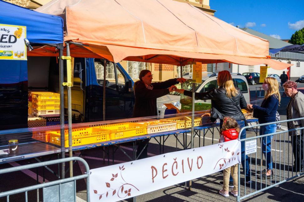 Farmářské trhy vBílině