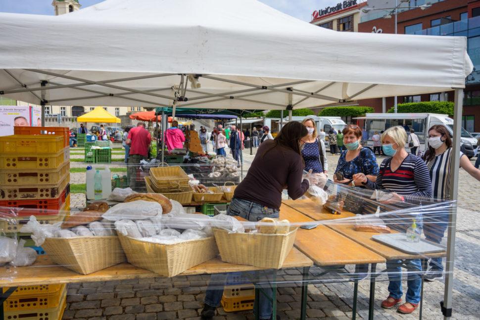 Farmářské trhy vTeplicích
